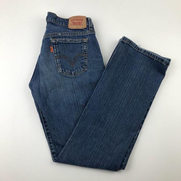 Levi's Denim - Vintage LEVI'S 505 Orange Tab Custom Jeans Stretch